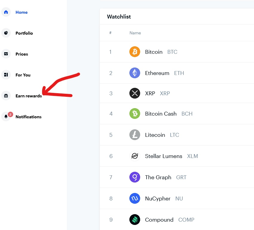 Get Coinbase Rewards After Joining
