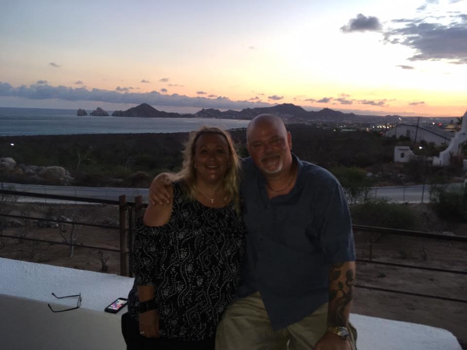 Richard And April Weberg in Cabo San Lucas, Mexico