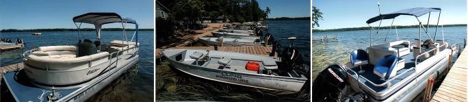 Broadwater Resort Lodge boat rentals
