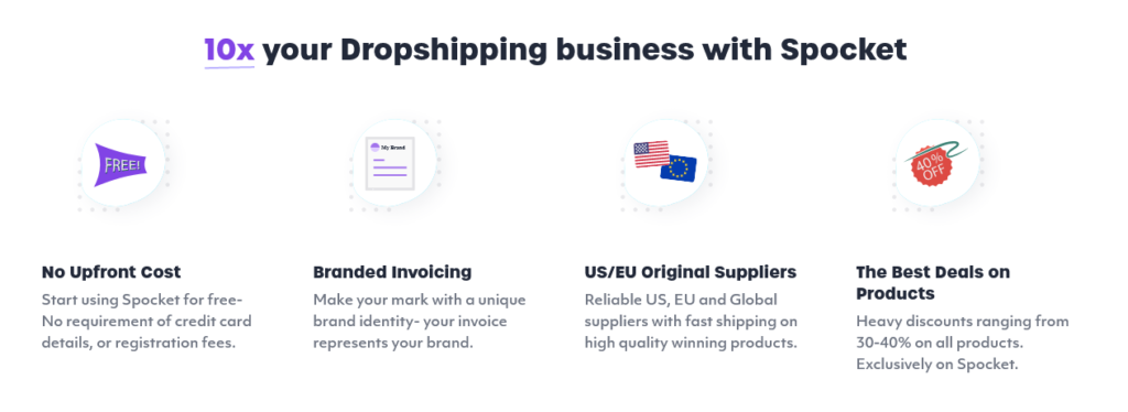 Best Dropshipping Suppliers for US + EU Products Spocket