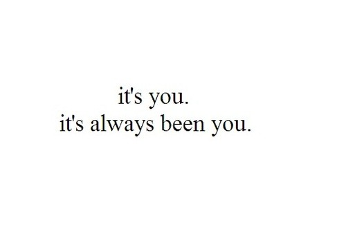 it is you
